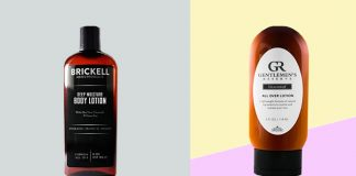 best body lotion for men with dry skin in winter